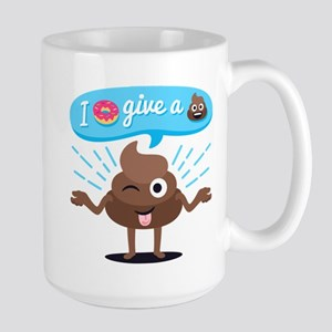 I Donut Give A Shit 15 oz Ceramic Large Mug